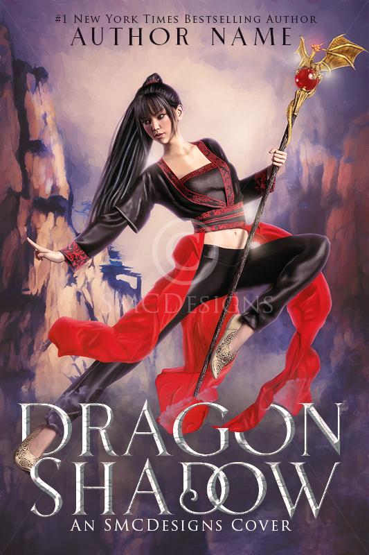 Premade Asian Fantasy Book Cover