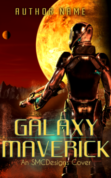 Premade Sci-Fi Book Cover