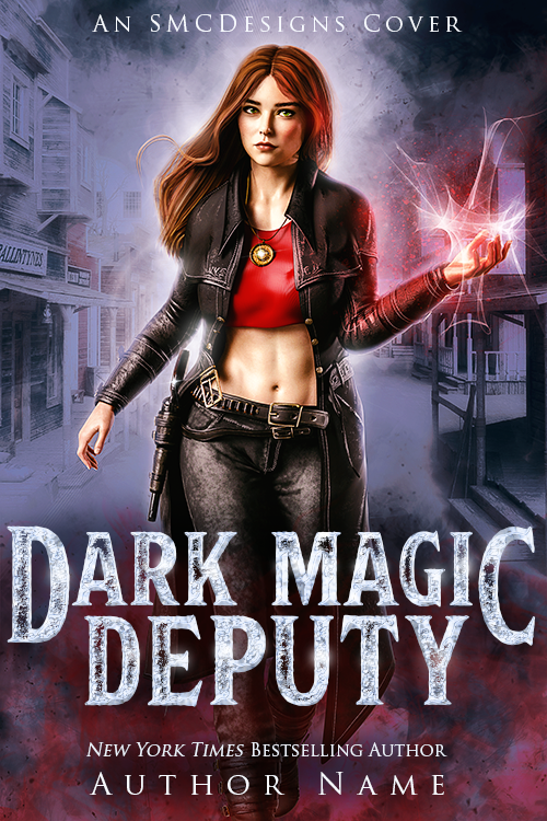Premade Urban Fantasy Book Cover