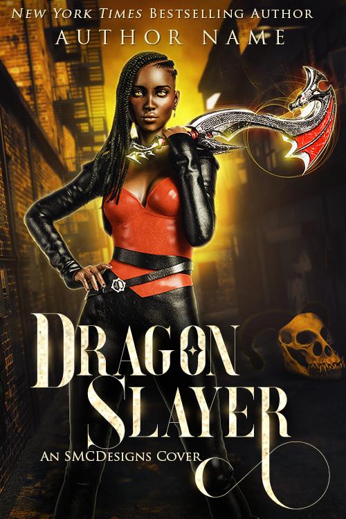 Premade Urban Fantasy Book Cover POC