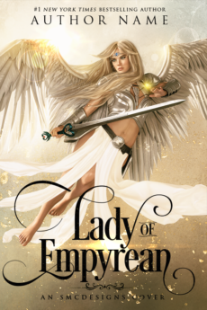 Premade Fantasy Book Cover Angel