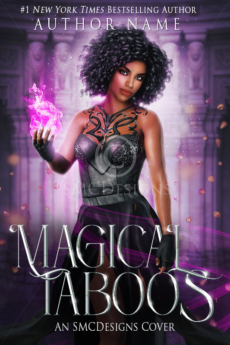 Premade Urban Fantasy Book Cover POC
