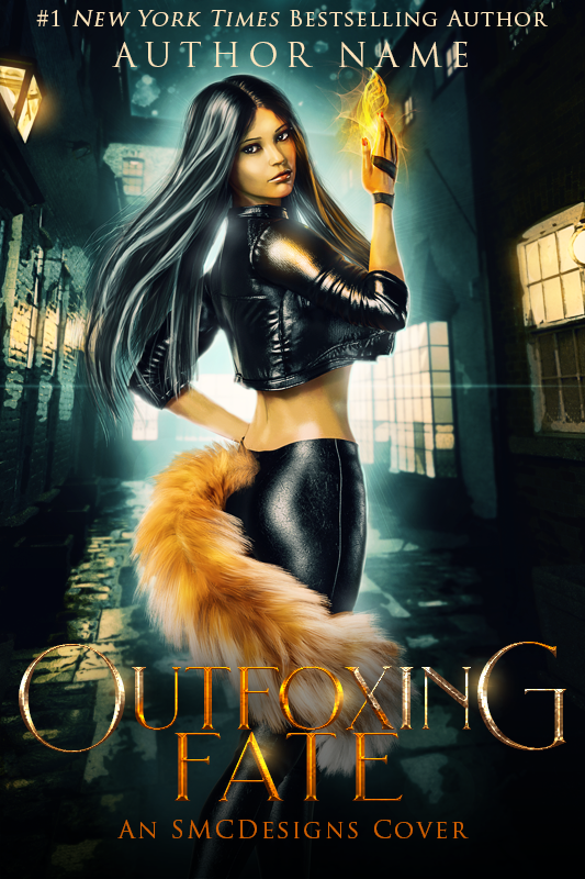 Premade Urban Fantasy Kitsune Book Cover