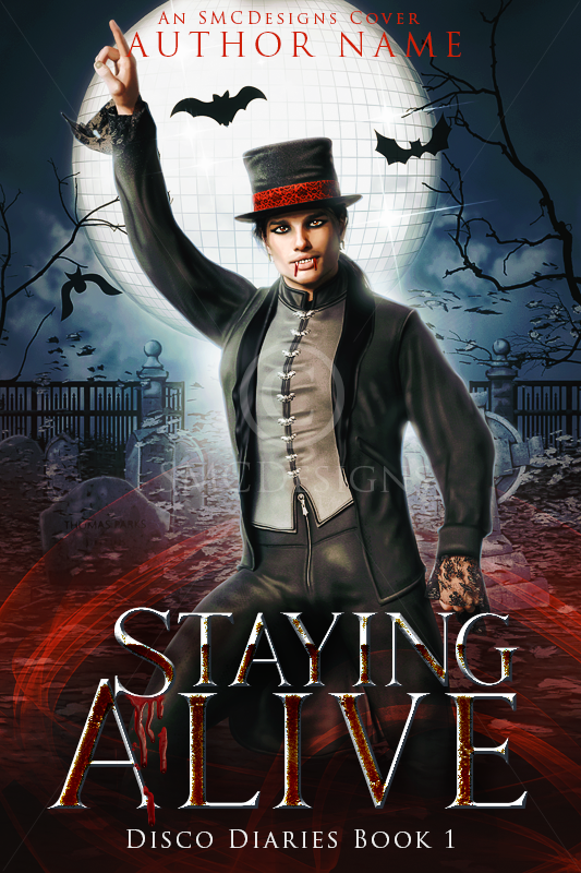 Premade Urban Fantasy Vampire Book Cover