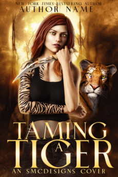 Premade Urban Fantasy Shifter Book Cover
