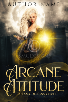 Premade Urban Fantasy Witch Book Cover