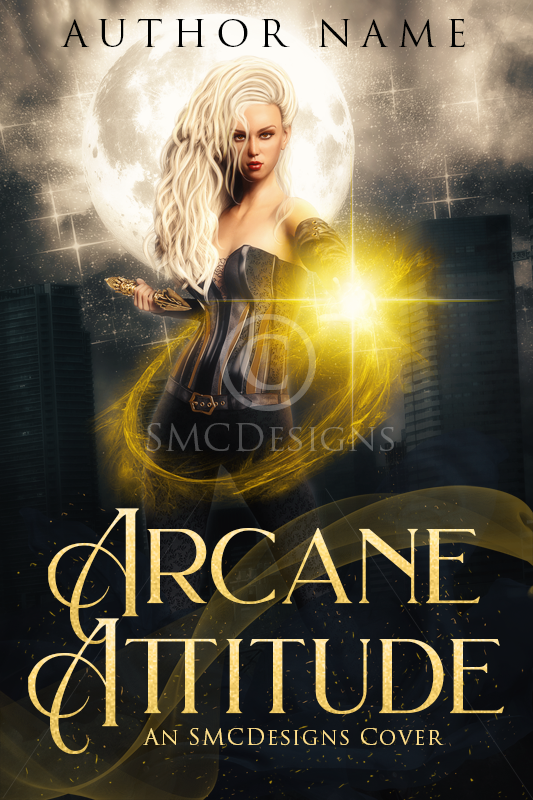 Premade Urban Fantasy Witch Book Cover