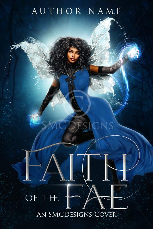 Premade Fantasy Book Cover Fae