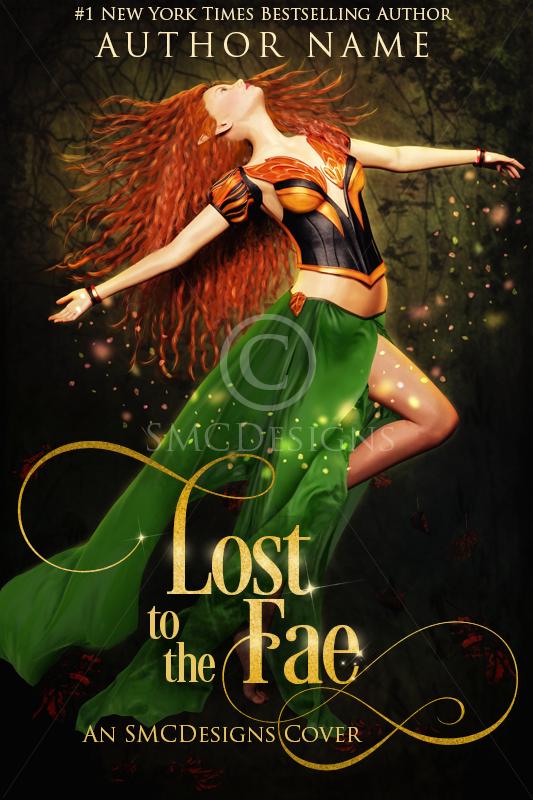 Premade Fantasy Book Cover