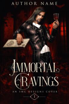 Premade Fantasy Book Cover vampire